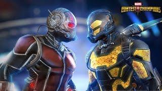 Marvel Contest of Champions: Ant-Man & Yellowjacket Enter Battlerealm