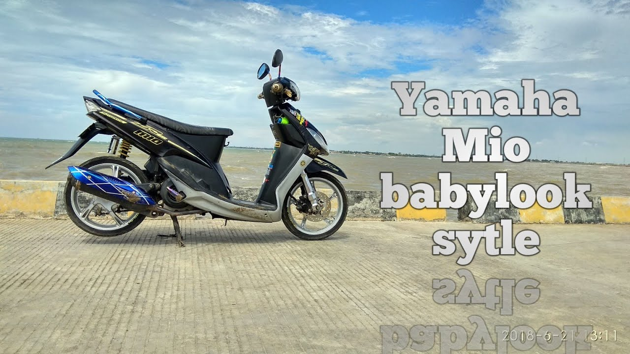 Modifikasi Motor Mio Sporty Babylook Untouchable My Journey