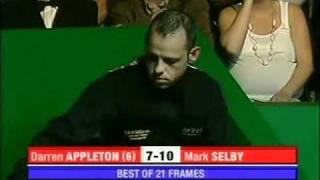 UK Pool WPC 2006 Final - Selby vs. Appleton (6/6)