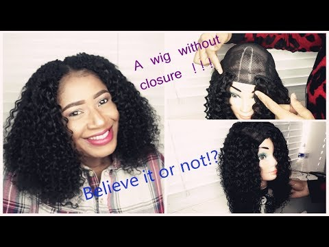 How to make a wig without closure?- save money+hair tutorial - 동영상