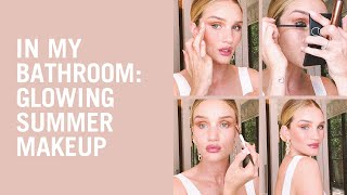 Glowing summer makeup tutorial with Rosie Huntington-Whiteley