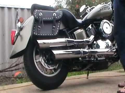 yamaha v star 1100 exhaust modification