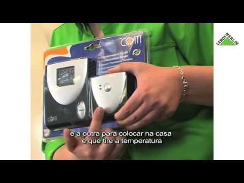 como instalar termostato e cronotermostato leroy merlin
