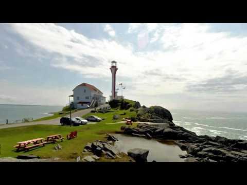 Cape Forchu Lighthouse - Yarmouth Lighthouse