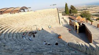 Кипр июнь 2021 на машине деревушка Омодос и амфитеатр Курион