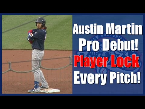 Austin Martin Pro Debut Player Lock - New Hampshire Fisher Cats. Blue Jays AA Team.