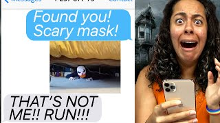 Halloween Hide And Seek Gone HORRIBLY WRONG!!! (Scary Text Message Story)