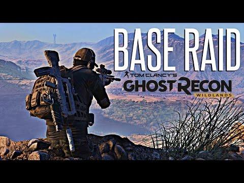 MILITARY BASE RAID!