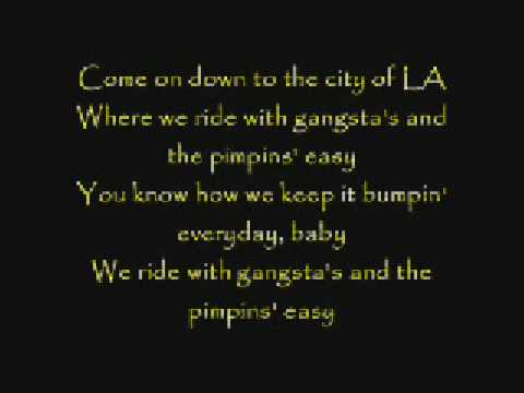 Hollywood Undead-Pimpin' With Lyrics