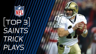 Top 3 Saints Trick Plays | #TrickPlayThursdays | NFL