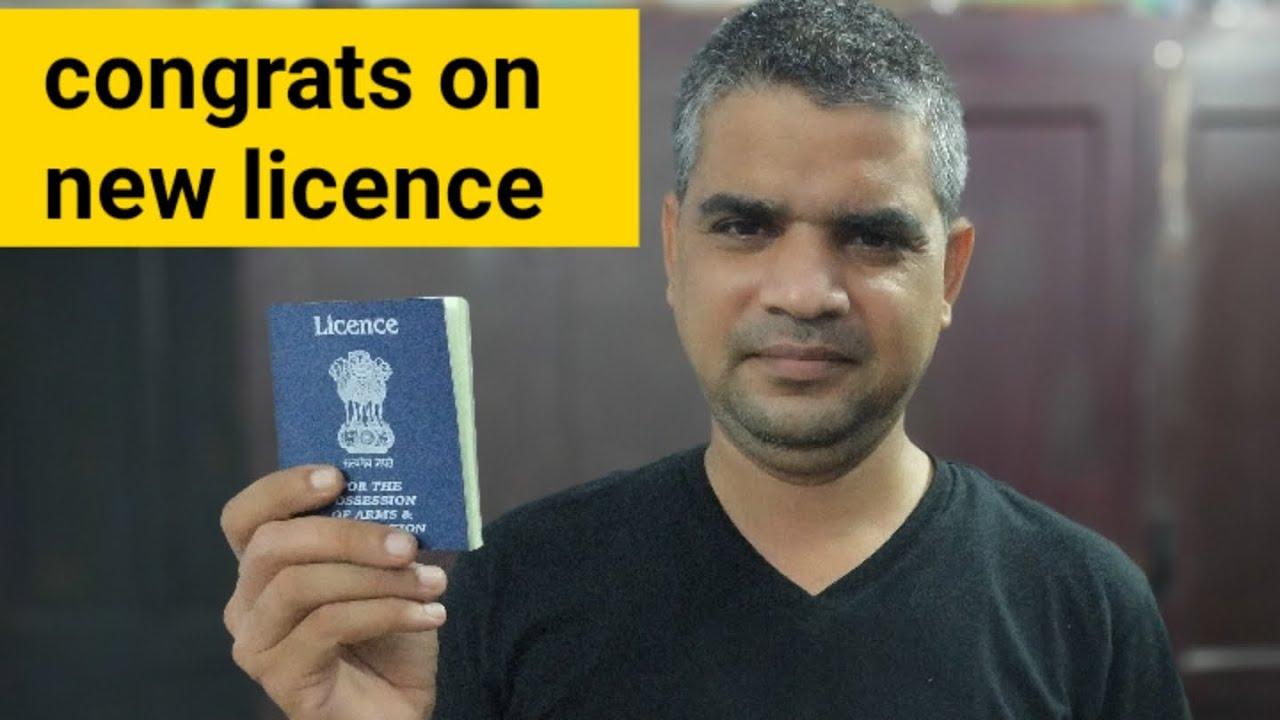 i got new licence