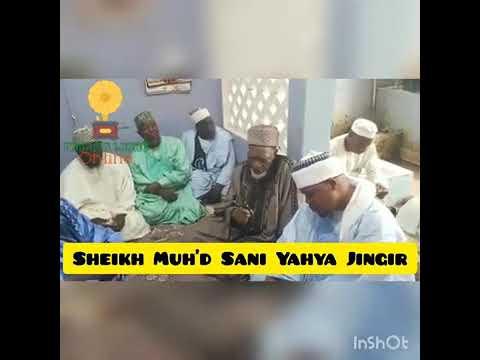 Download Jawabin sheikh sani Yahaya jingir lokacin da shugaban malamai na jahar Adamawa yaje mai gaisuwan sal