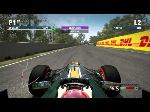 F1 2012 - Career - Montreal, Canada - Qualifying - Commentated