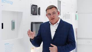 """Abb Roomtouch® """"smartens"""" Up Any Room   High Quality Knx Control Element With Swipe Technology"""