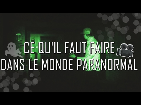 ✔️ 8 CHOSES A FAIRE DANS LE MONDE PARANORMAL 👻