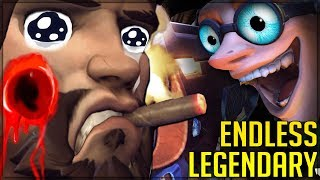 ENDLESS PAIN IN LEGENDARY ENDLESS JUNKENSTEIN'S REVENGE - Overwatch Halloween 2017! (Fun/Tips)
