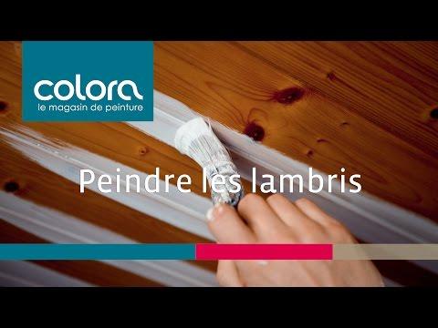 Peindre des lambris : comment faire? - YouTube