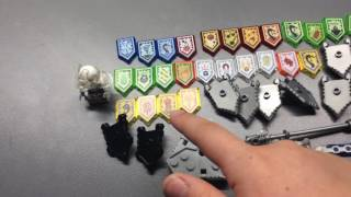 What I Got: LEGO Nexo Knights Shield Scans