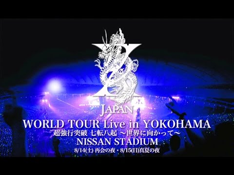 X JAPAN World Tour [Live in Yokohama 2010.8an Stadium]