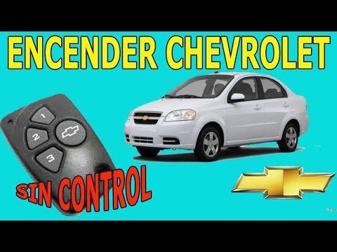 Como Encender Vehiculos Chevrolet Sin El Control Remoto De