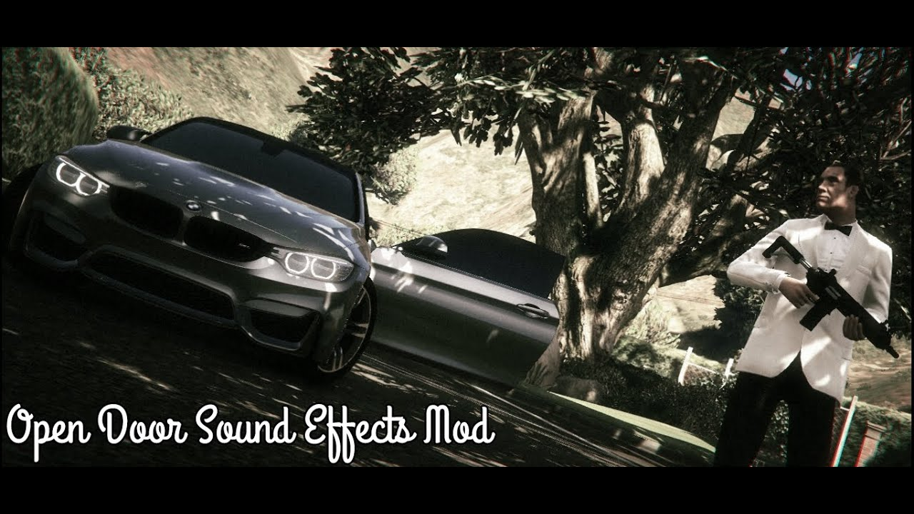 Gta v open door sound effects mod youtube for Door opening sound effect