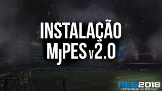 Download e Instalação do MjPES v2.0 - PES 2018 PC (Brasileirão e Bundesliga)
