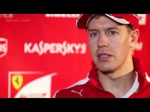Pre-season interview with Ferrari's Sebastian Vettel