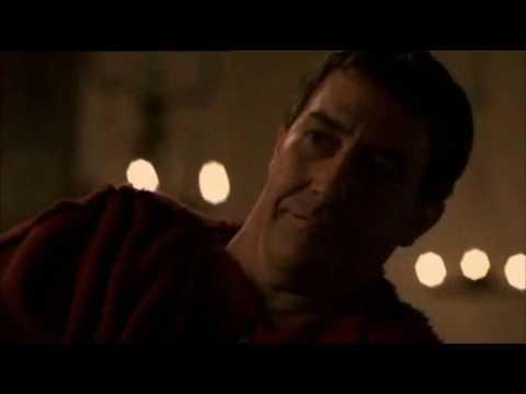 HBO Rome's Gaius Julius Caesar Ciaran Hinds