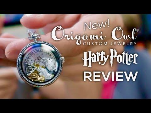 Origami Owl Jewelry   Harry Potter Locket W Chain Charms   Poshmark   360x480