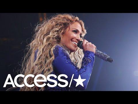 Jennifer Lopez Celebrates Her 100th Las Vegas Show With Karaoke & Gigantic Cake | Access