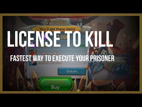 Lords Mobile: License To Kill