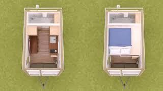Tiny House Floor Plans 8 X 16 - Gif Maker Daddygif.com See Description