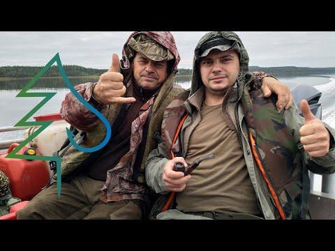Приезд. Часть 1. Тайга у Белого моря 2. Охота и рыбалка в Карелии.