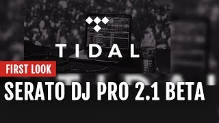 First Look: Serato DJ Pro 2.1 Beta With TIDAL Integration   Tips and Tricks