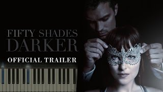 Miguel - Crazy In Love (OST Fifty Shades Darker Trailer Ver) НОТЫ & MIDI | КАРАОКЕ | PIANO COVER