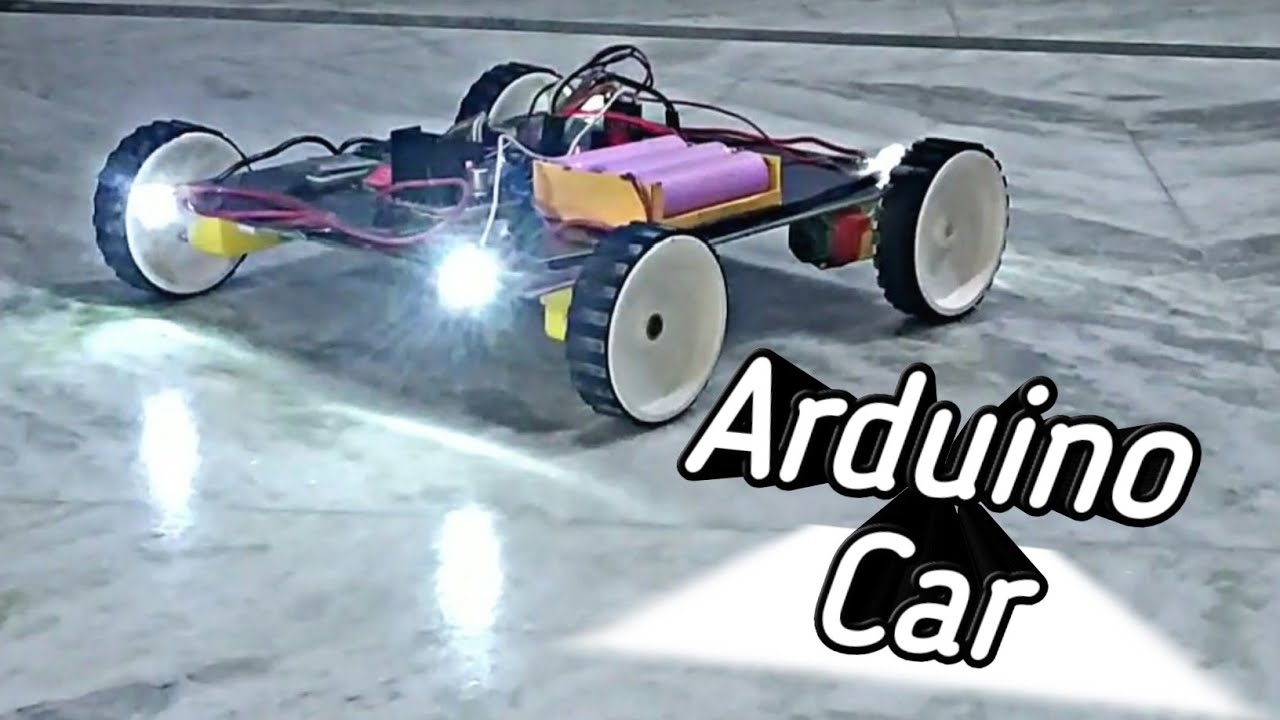 How To Make An Arduino Car With Leds
