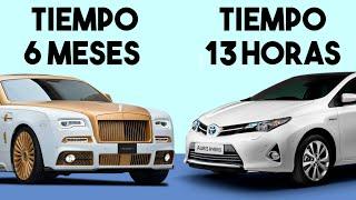 ¿Por qué Tardan 6 Meses en Construir un Rolls Royce y 13 Horas en Construir un Toyota?