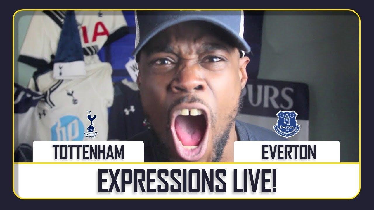 Tottenham vs Everton EXPRESSIONS LIVE WATCH ALONG
