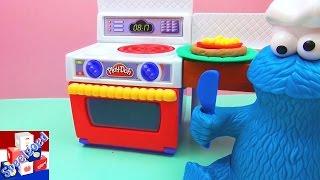 Play Doh Koekiemonster Eet Pizza – Pizza Van Klei Maken Met PD Keuken (Demo 2) Mijn Eigen Doh Keuken