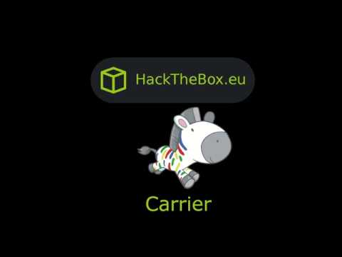 HackTheBox - Carrier