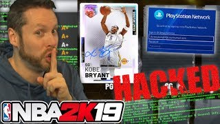 I hacked a NBA 2K19 account for Kobe Bryant!