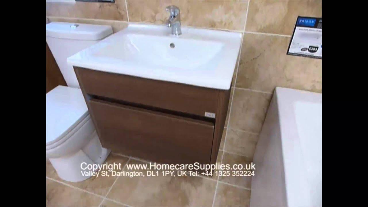 Vitra S50 Oak Single Drawer 60cm wide Vanity Unit from