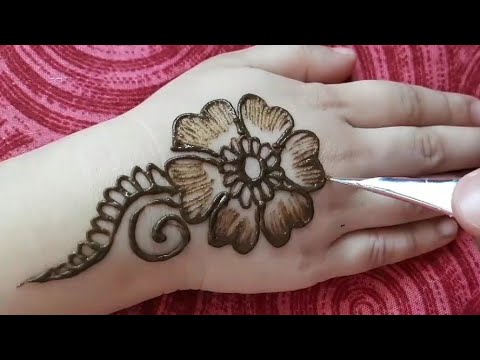 beautiful mehndi design for kids