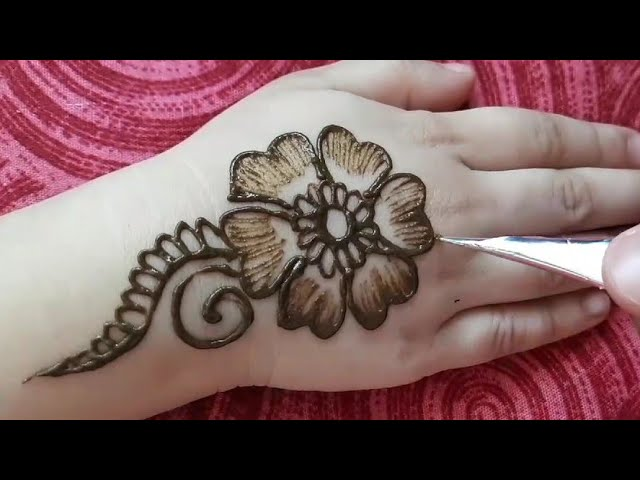 Beautiful Mehndi Design For Kids Hand Latest Mehndi Designs New Mehndi 2020 Youtube