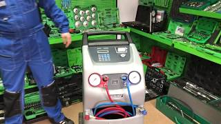 Видео обзор установки для заправки кондиционеров ECOTECHNICS ECK 1890