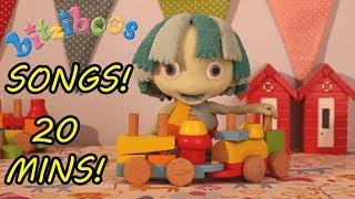 Bitziboos - SONGS COMPILATION 20 MINS!   Preschool Songs   Nursery Rhymes & Songs