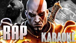 Rap do Kratos (Karaokê) - FANTASMA DE ESPARTA | PAPYRUS DA BATATA