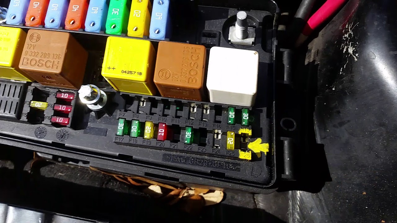 small resolution of 2005 saab 9 3 aero convertible fusebox removal pt 1 youtube