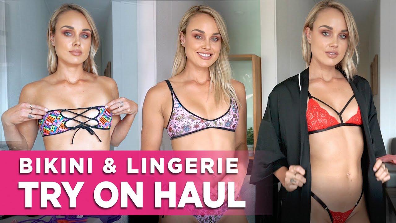 Bikini Lingerie Video