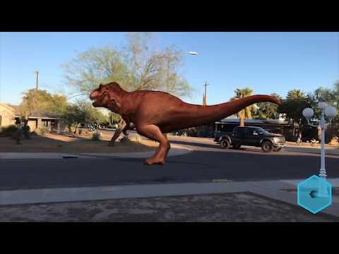 Monster Park - iPhone iOS 11 - AR - Test 1